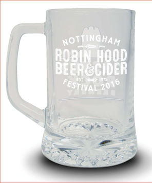 Commemorative Glass 2016 Front
